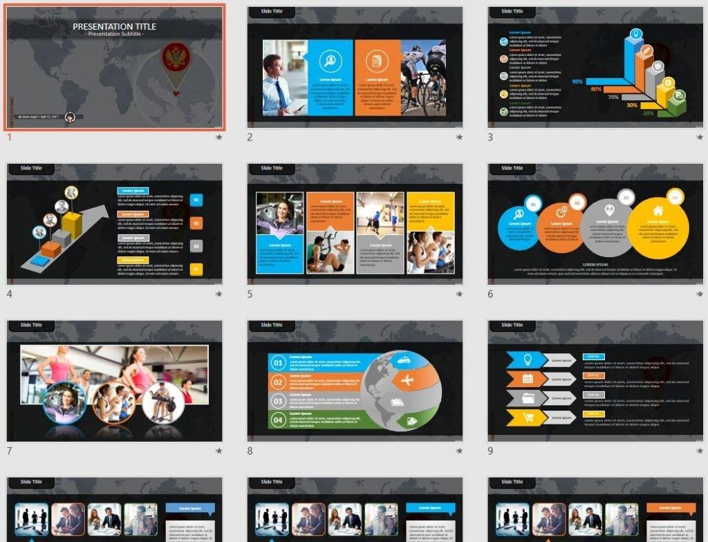 Montenegro PowerPoint by SageFox