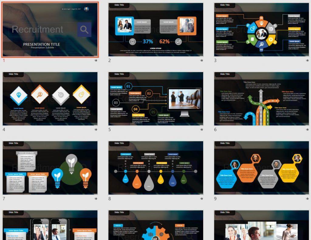 Recruitment PowerPoint by SageFox