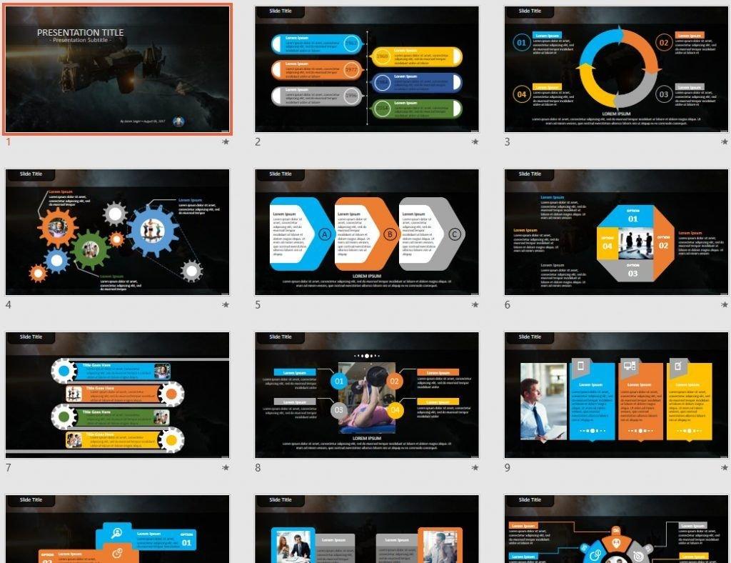 SciFi PowerPoint by SageFox