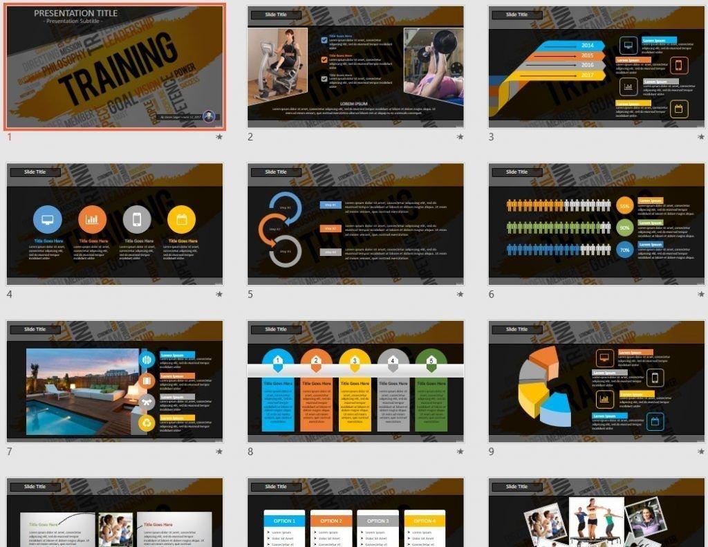 Training PowerPoint by SageFox