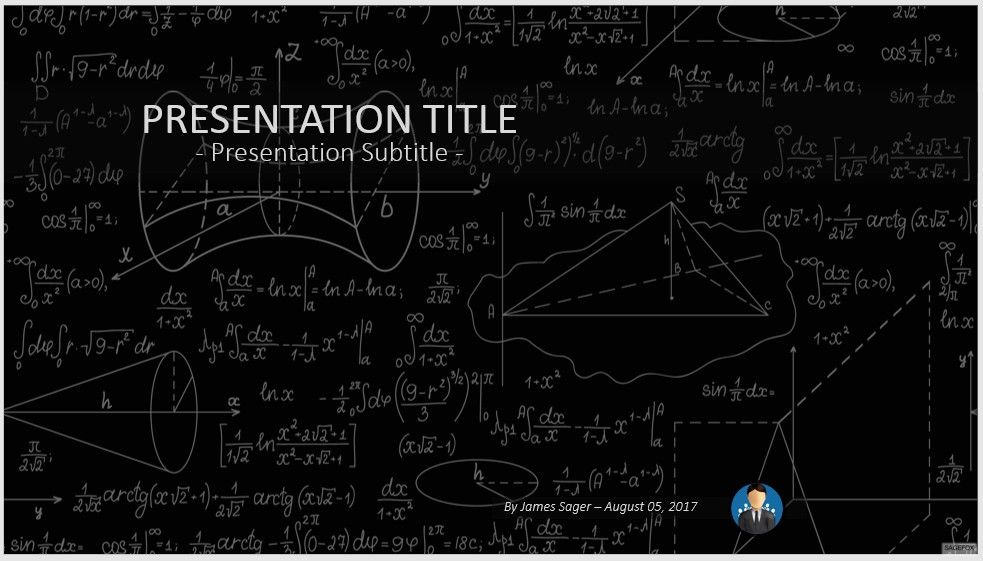 Free mathematics powerpoint 27558 sagefox powerpoint for Powerpoint templates mathematics free download