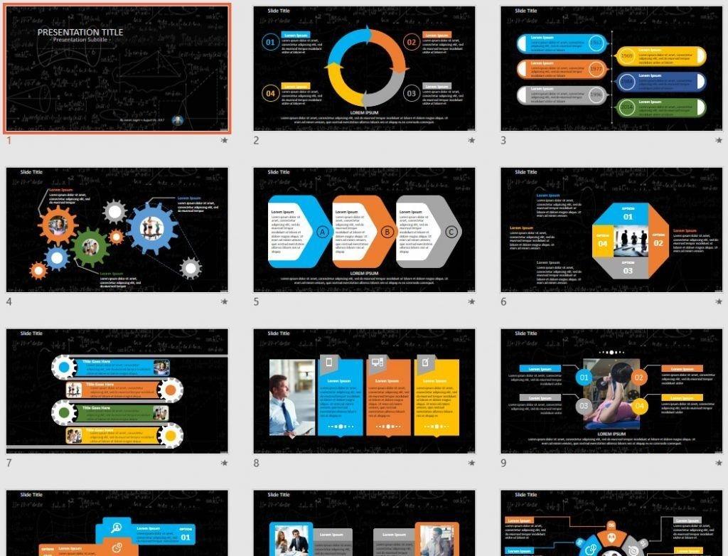 Mathematics PowerPoint by SageFox