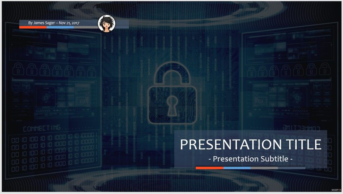 Free powerpoint templates it security gallery powerpoint template cyber security ppt download free quantumgaming free computer security ppt 78133 14132 free powerpoint powerpoint templates toneelgroepblik Images