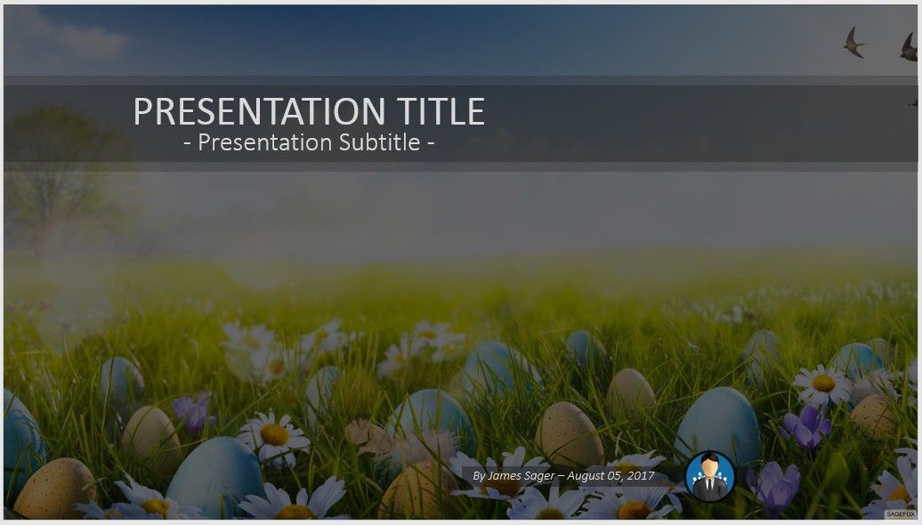 Easter Powerpoint  Free Easter Powerpoint By Sagefox