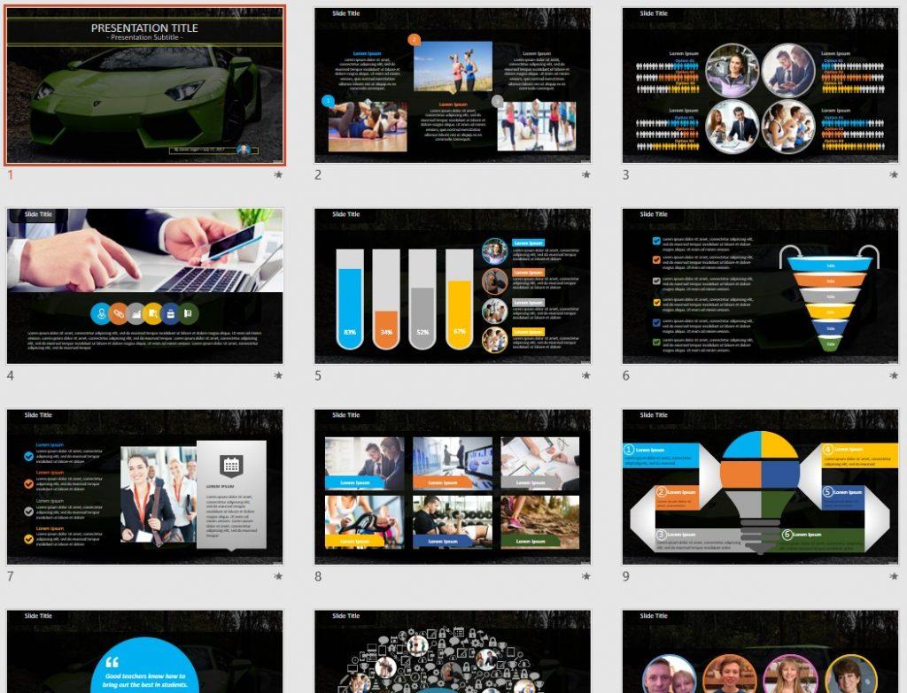 lamborghini PowerPoint by SageFox