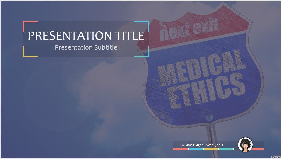 Free medical ethics ppt 77513 13885 free powerpoint templates by james sager toneelgroepblik Gallery