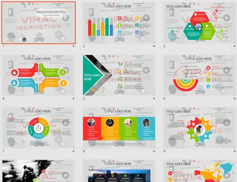 free viral marketing powerpoint 77453 sagefox free powerpoint