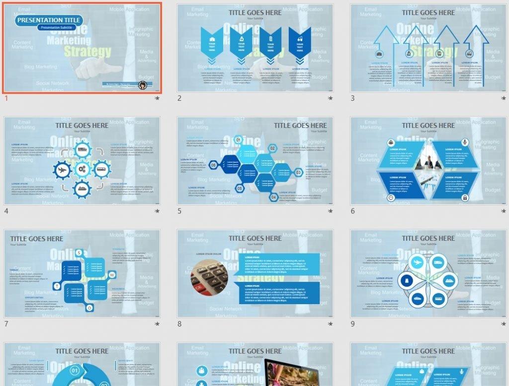 Online Marketing PPT by SageFox