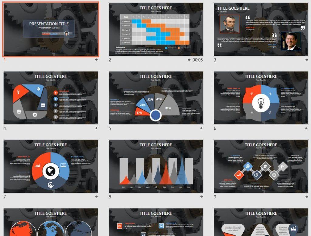 metal gears PowerPoint by SageFox