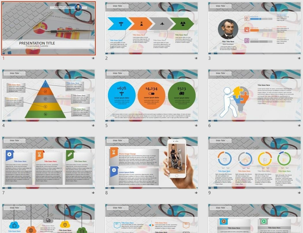 Free Sales Report Powerpoint 78724 Sagefox Free Powerpoint Templates