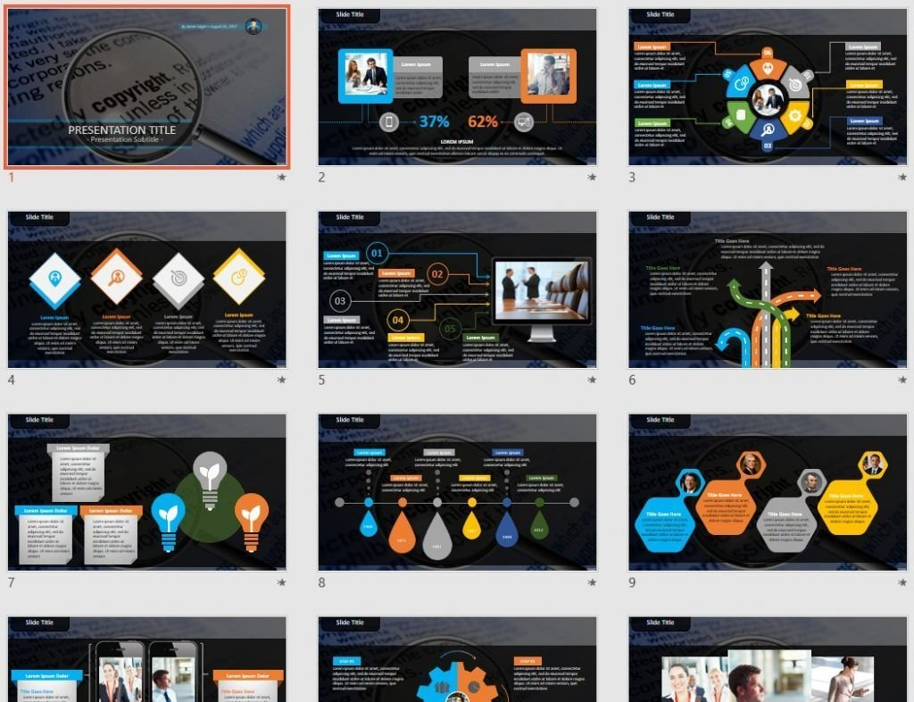 Copyright PowerPoint by SageFox