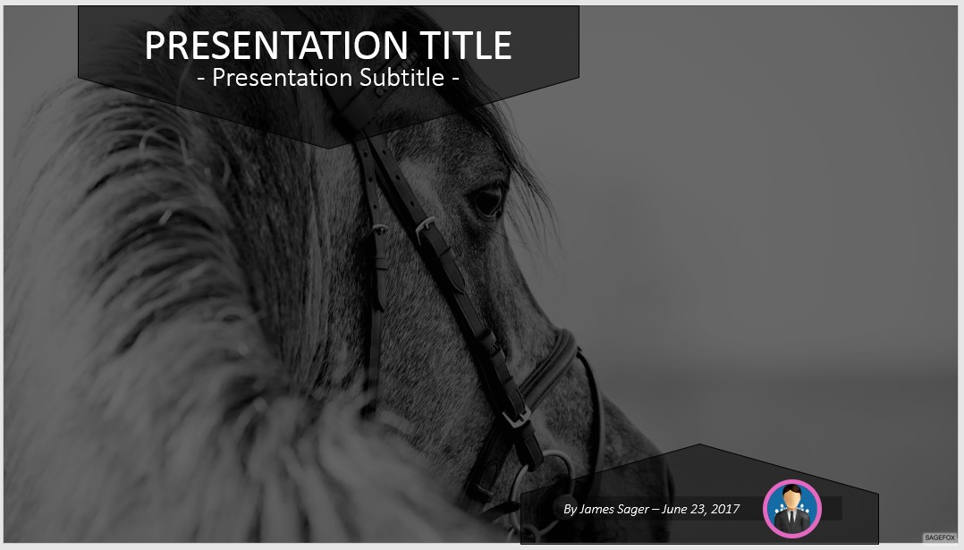 Free horse powerpoint 77223 sagefox powerpoint templates please share this free powerpoint template toneelgroepblik Choice Image