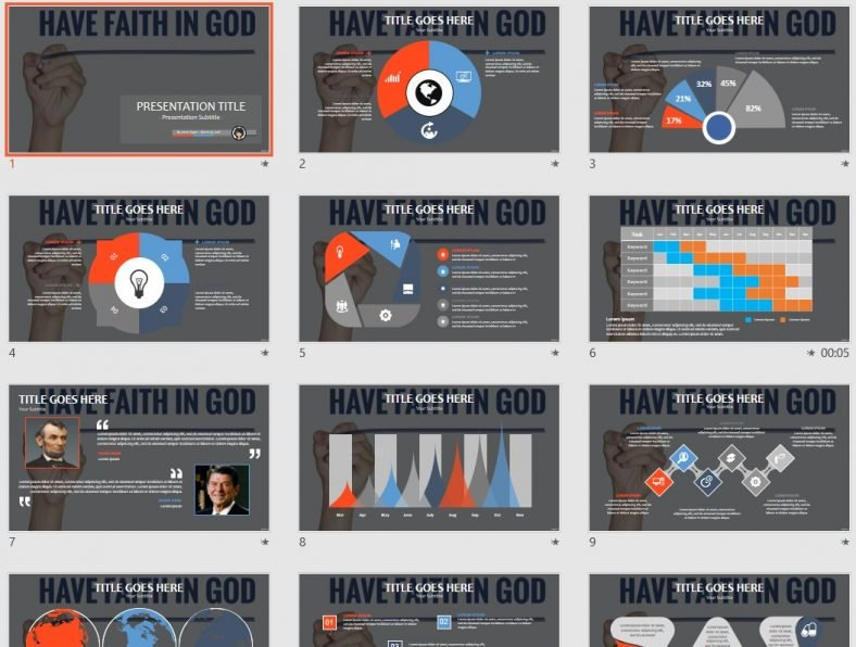 Free Have Faith In God Powerpoint 77608 Sagefox Free Powerpoint