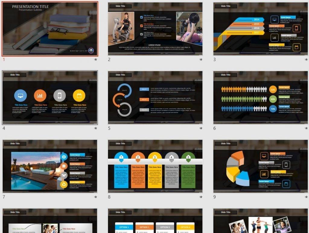 Books PowerPoint by SageFox