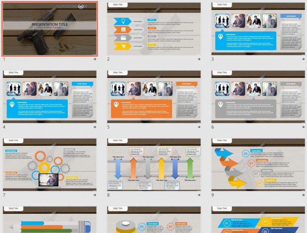 pistol PowerPoint by SageFox