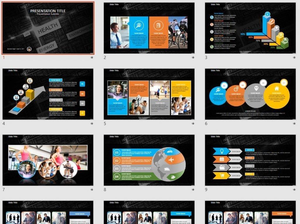 health PowerPoint by SageFox