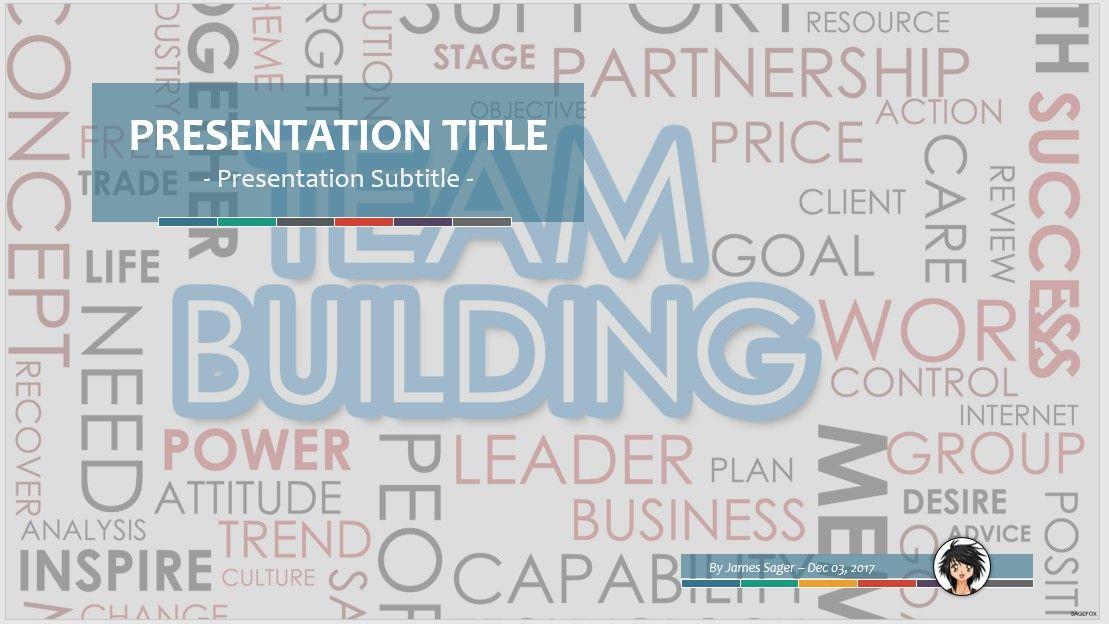 free team building ppt #78318 | sagefox powerpoint templates., Modern powerpoint