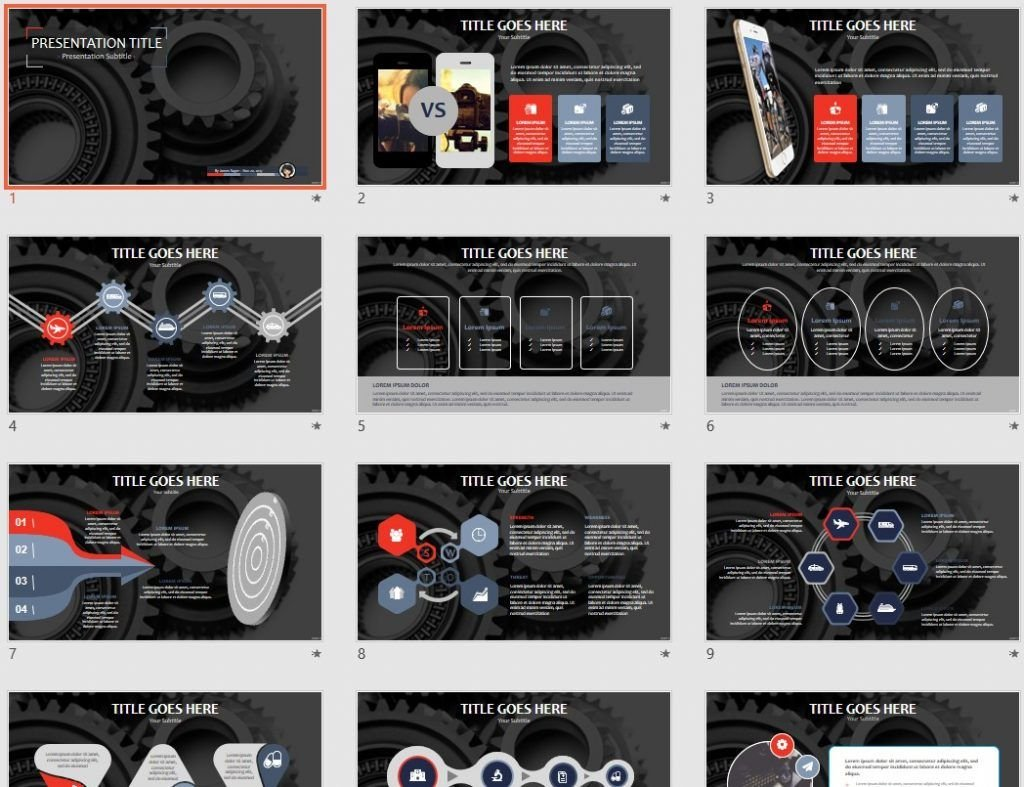 Gears PPT by SageFox