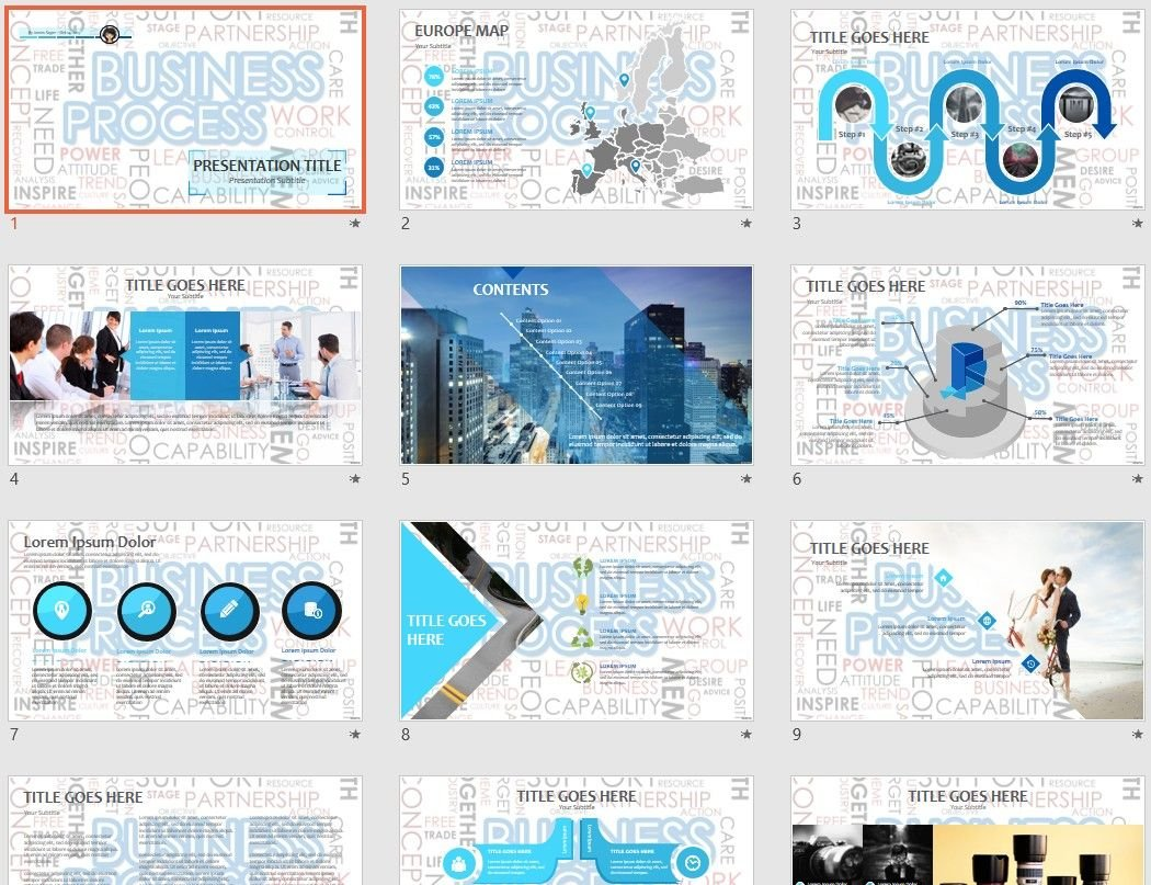 Free business process powerpoint 78368 sagefox free powerpoint by james sager wajeb Image collections