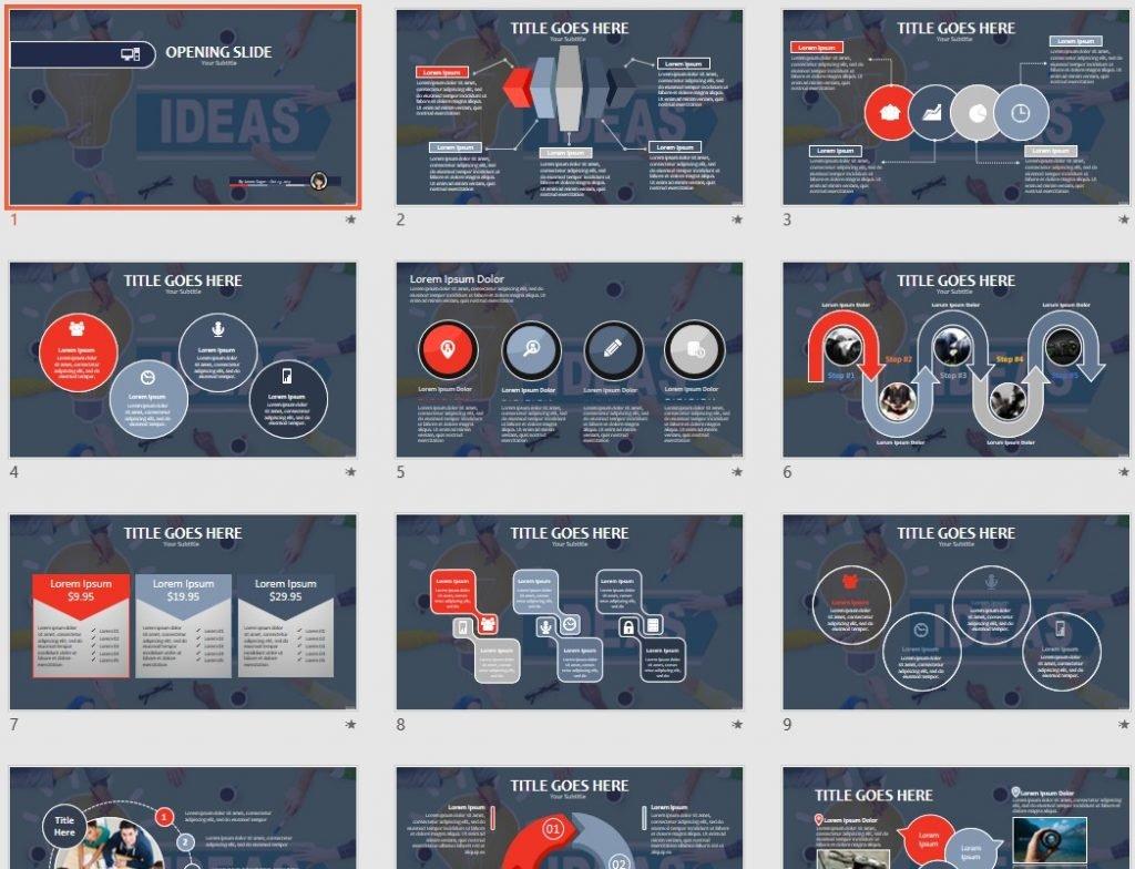 Ideas PPT by SageFox
