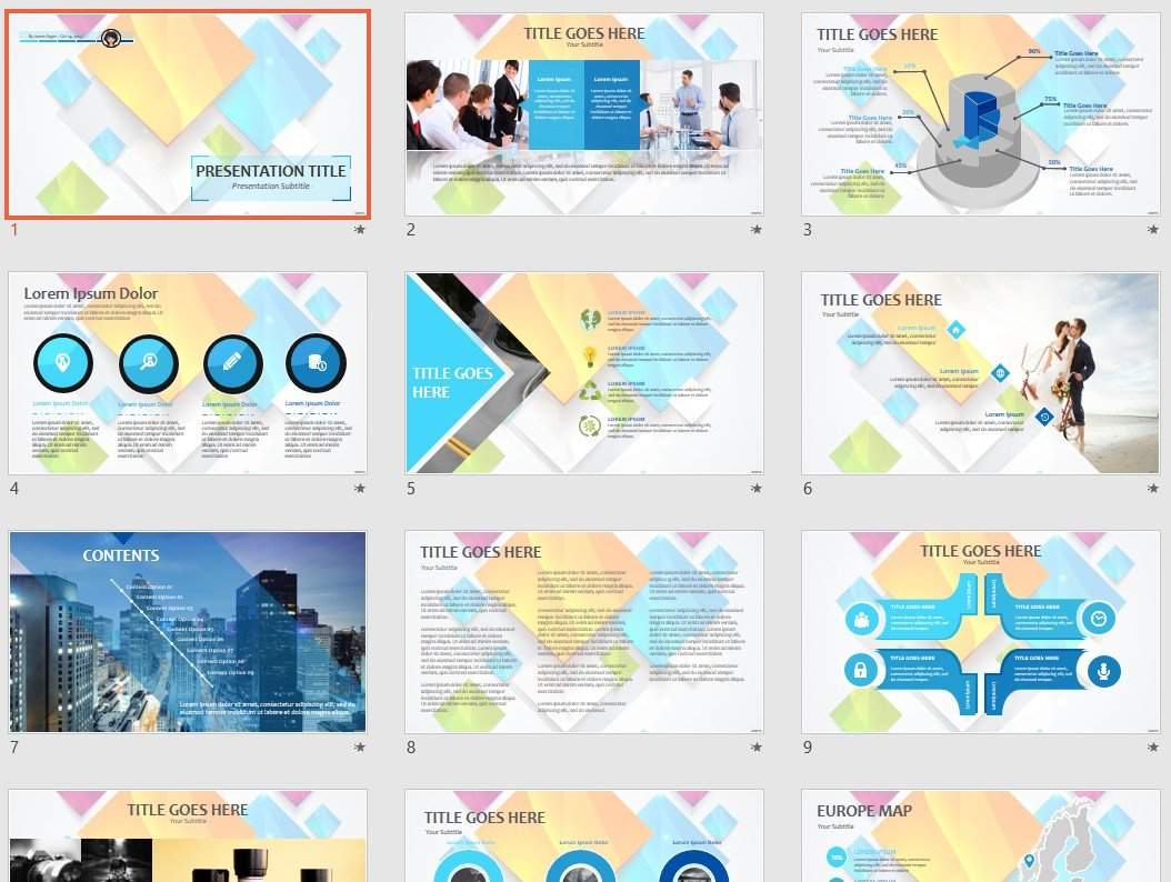 Free Abstract Powerpoint 79014 Sagefox Free Powerpoint Templates