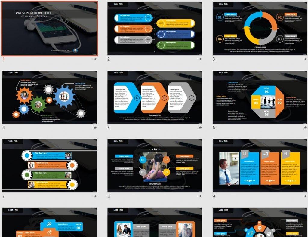 Smartphone PowerPoint by SageFox