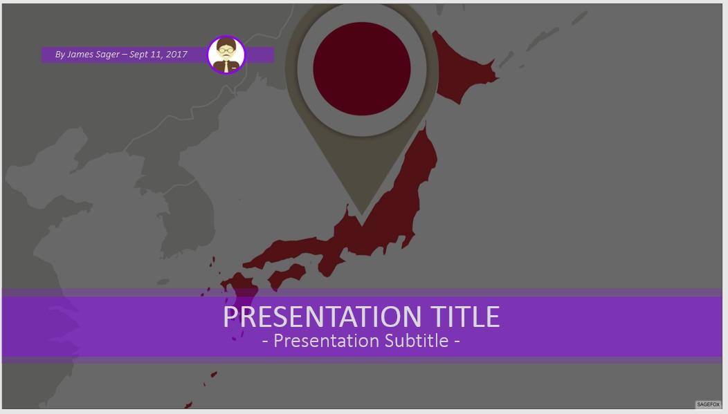 free japan powerpoint #79704 | 13935 free powerpoint templates, Powerpoint templates