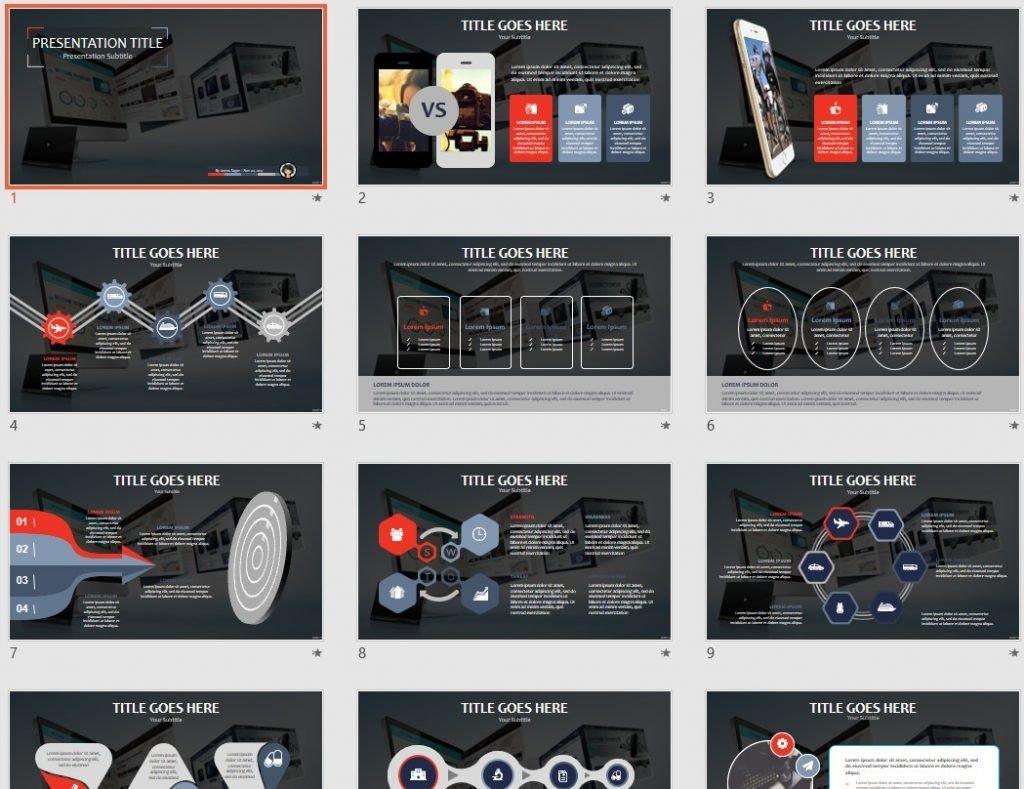 Web design PPT by SageFox