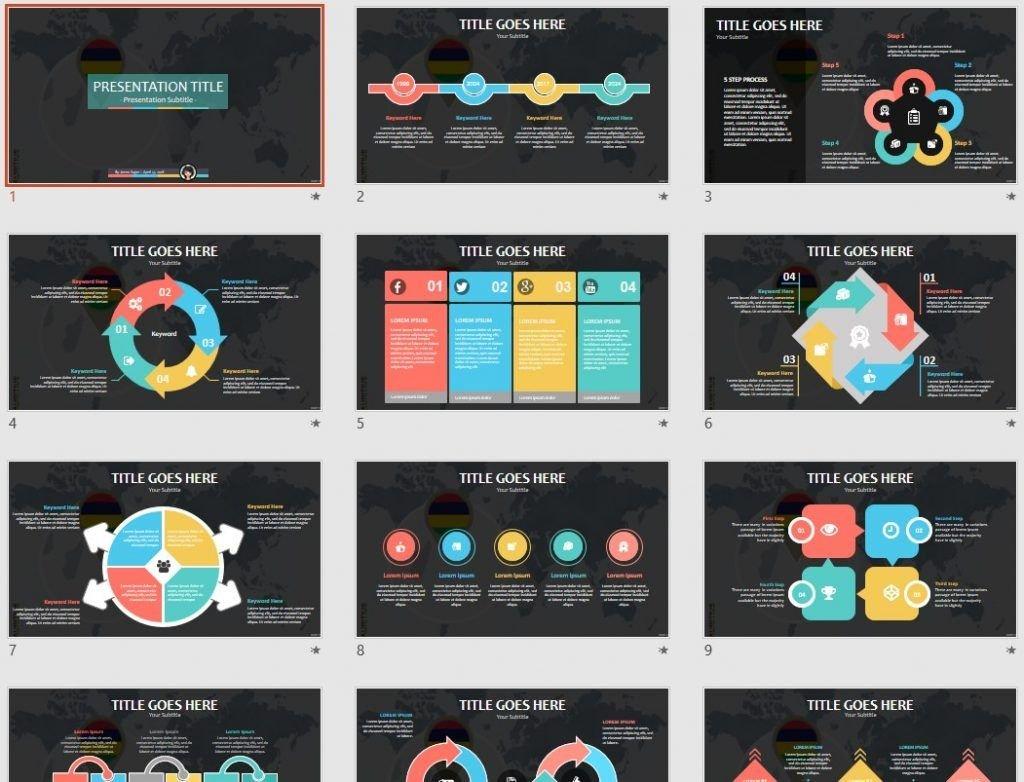 Mauritius PowerPoint by SageFox