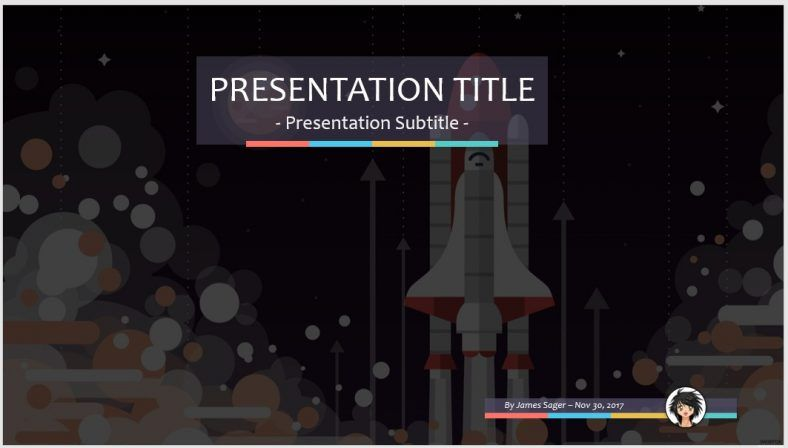 space shuttle powerpoint template - photo #13