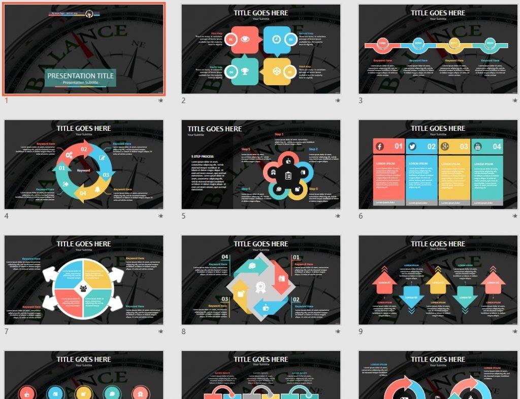 Balance PowerPoint by SageFox
