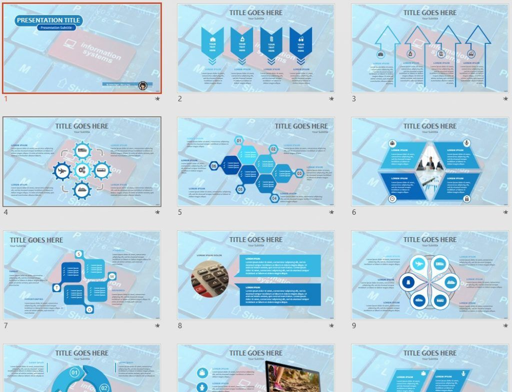 Information Systems PPT by SageFox