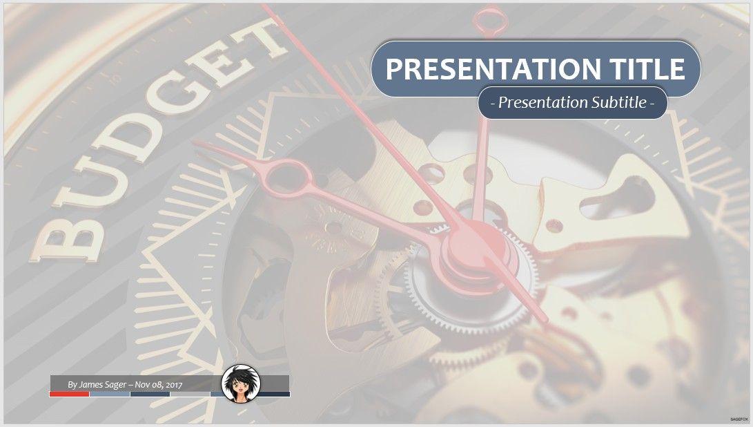 free budget ppt #80629   sagefox free powerpoint templates., Presentation templates