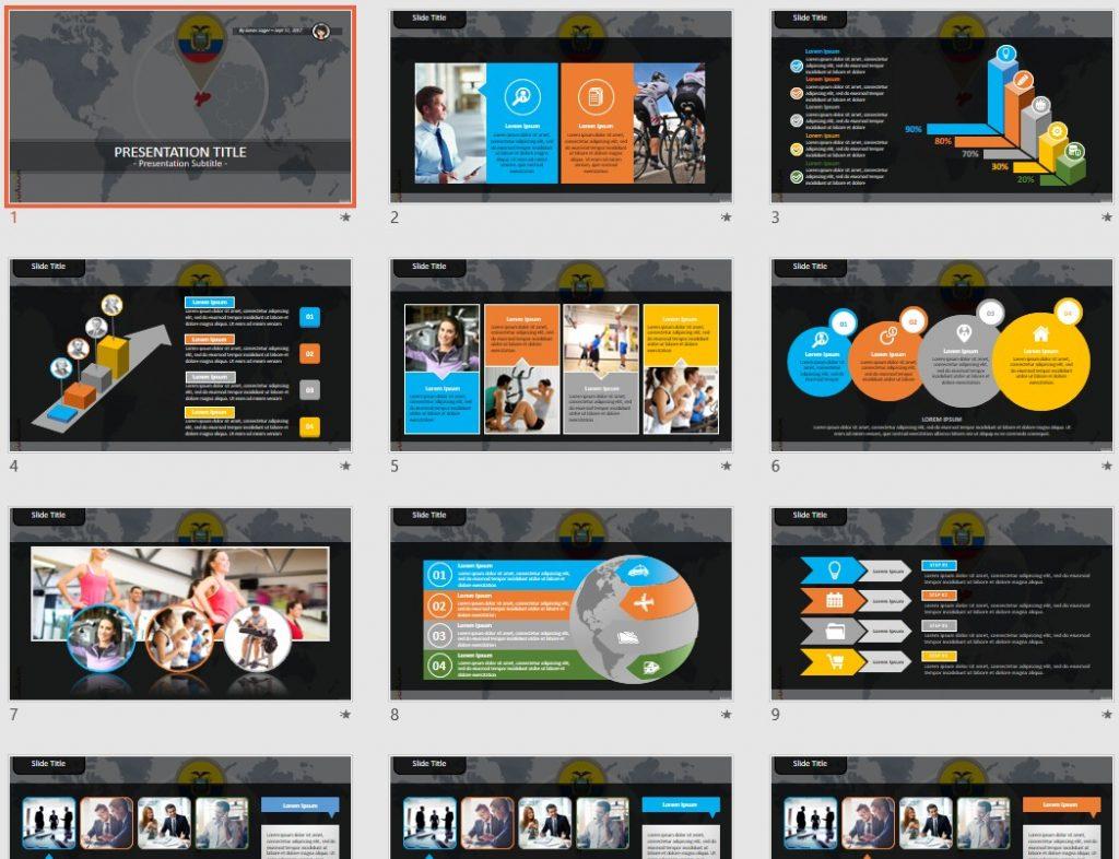 Ecuador PowerPoint by SageFox