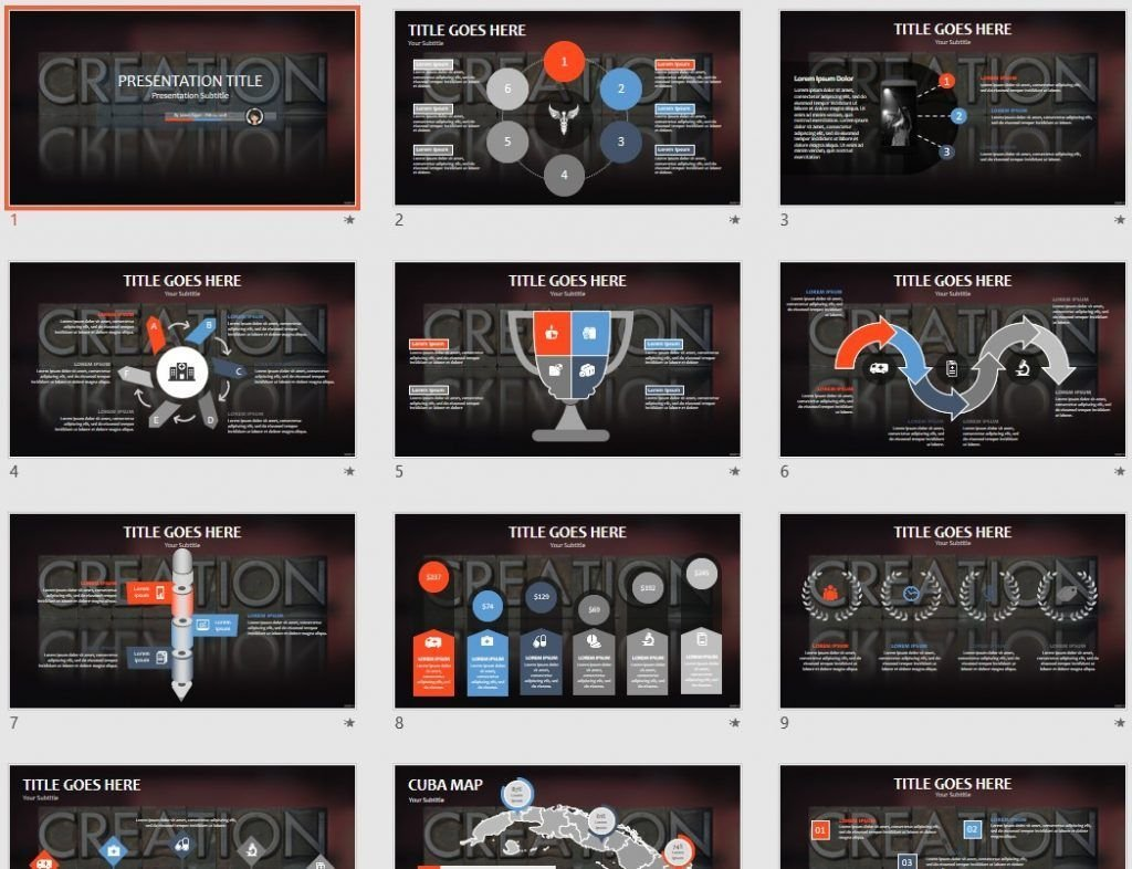 free creation ppt 79494 sagefox powerpoint templates