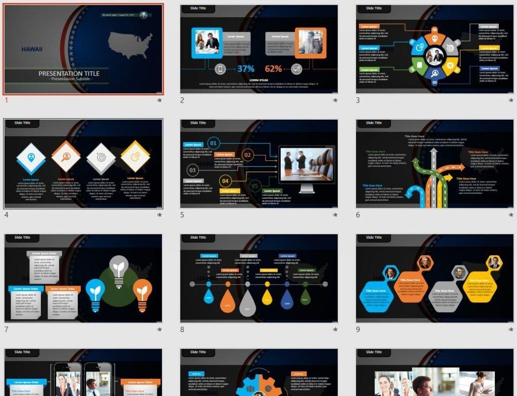 Hawaii PowerPoint by SageFox
