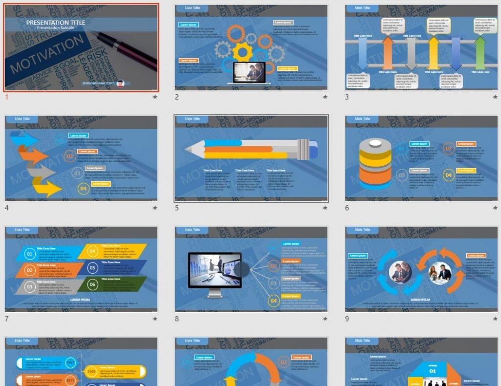 Motivation PowerPoint by SageFox