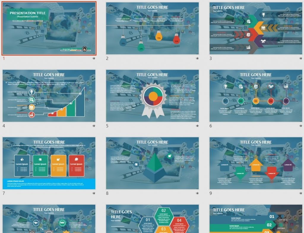 Laptop PowerPoint by SageFox