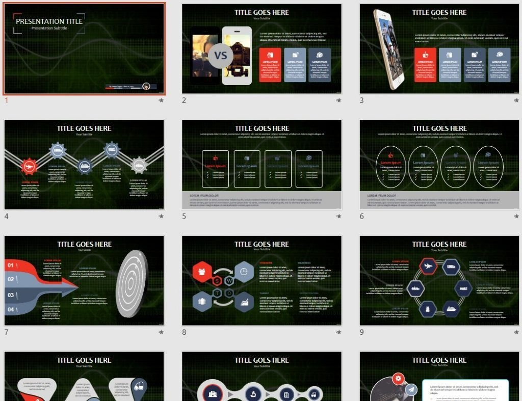 Abstract Tech PPT by SageFox