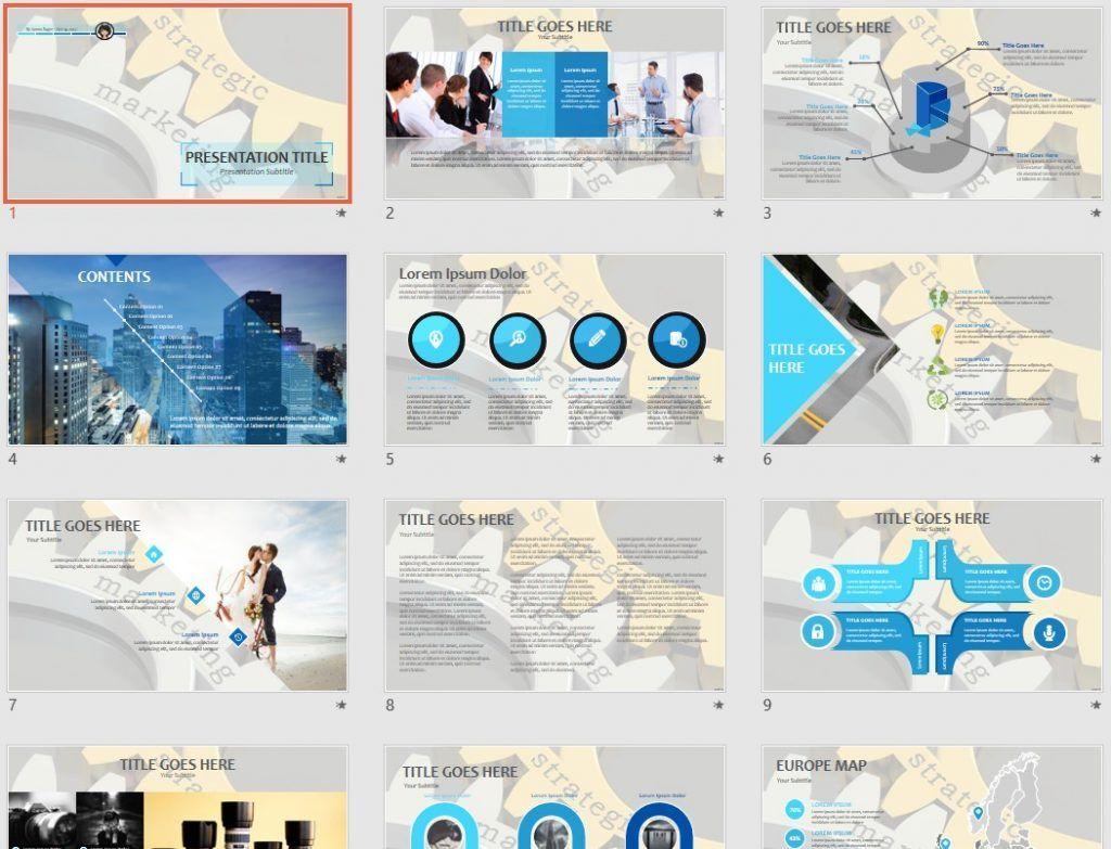 Strategic Marketing PPT by SageFox