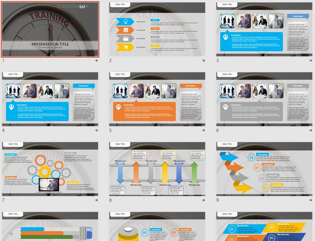 free training powerpoint  48212