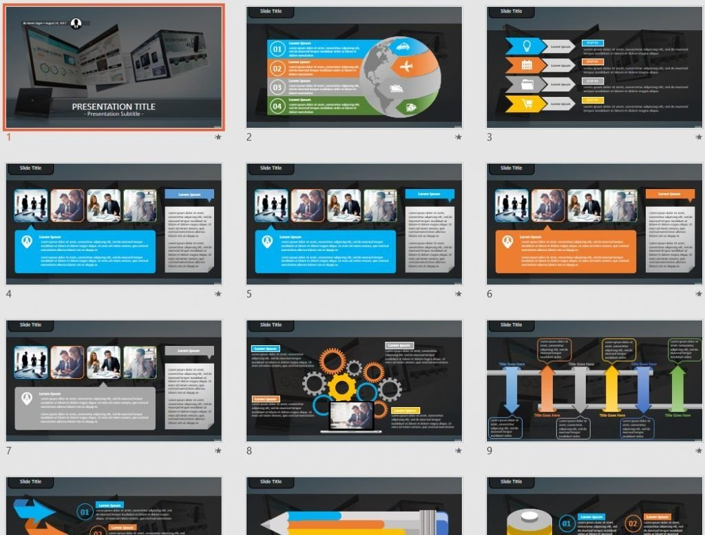 Web design PowerPoint by SageFox