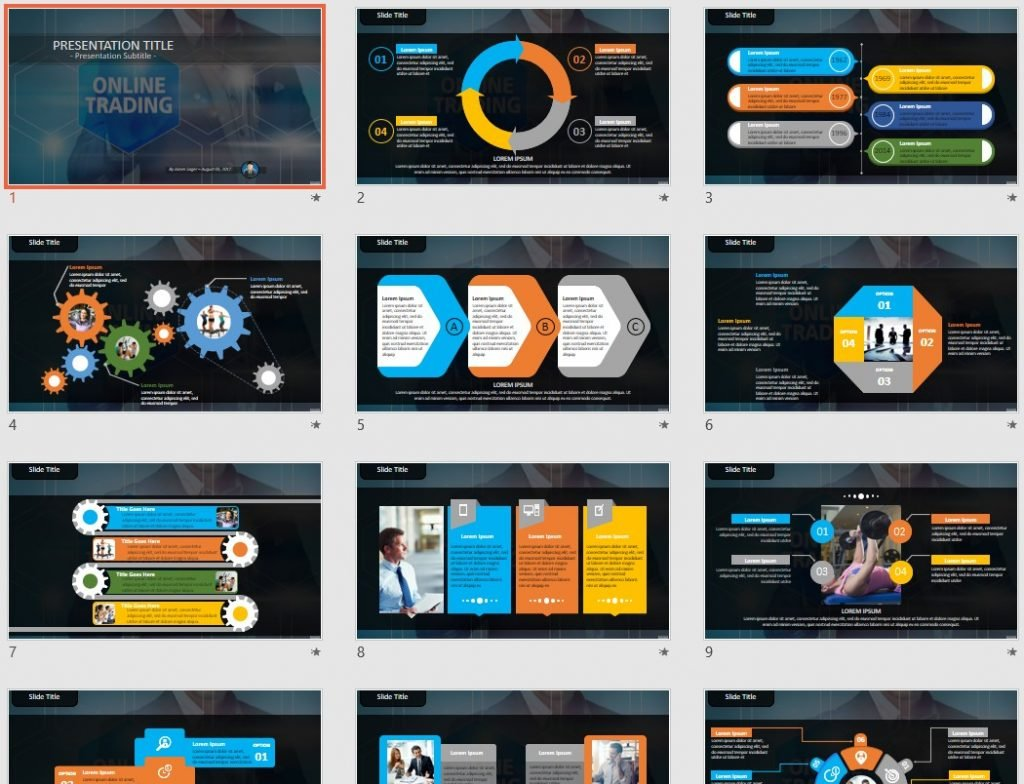 trading powerpoint template trading powerpoint ppt presentation