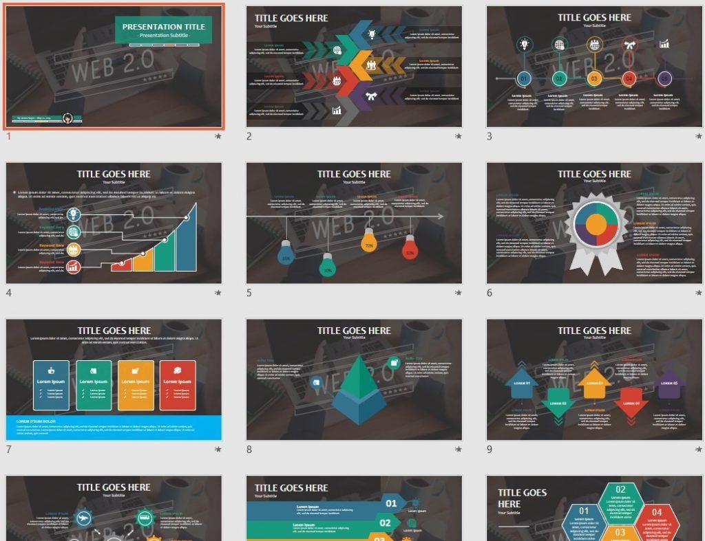 web 2.0 PowerPoint by SageFox