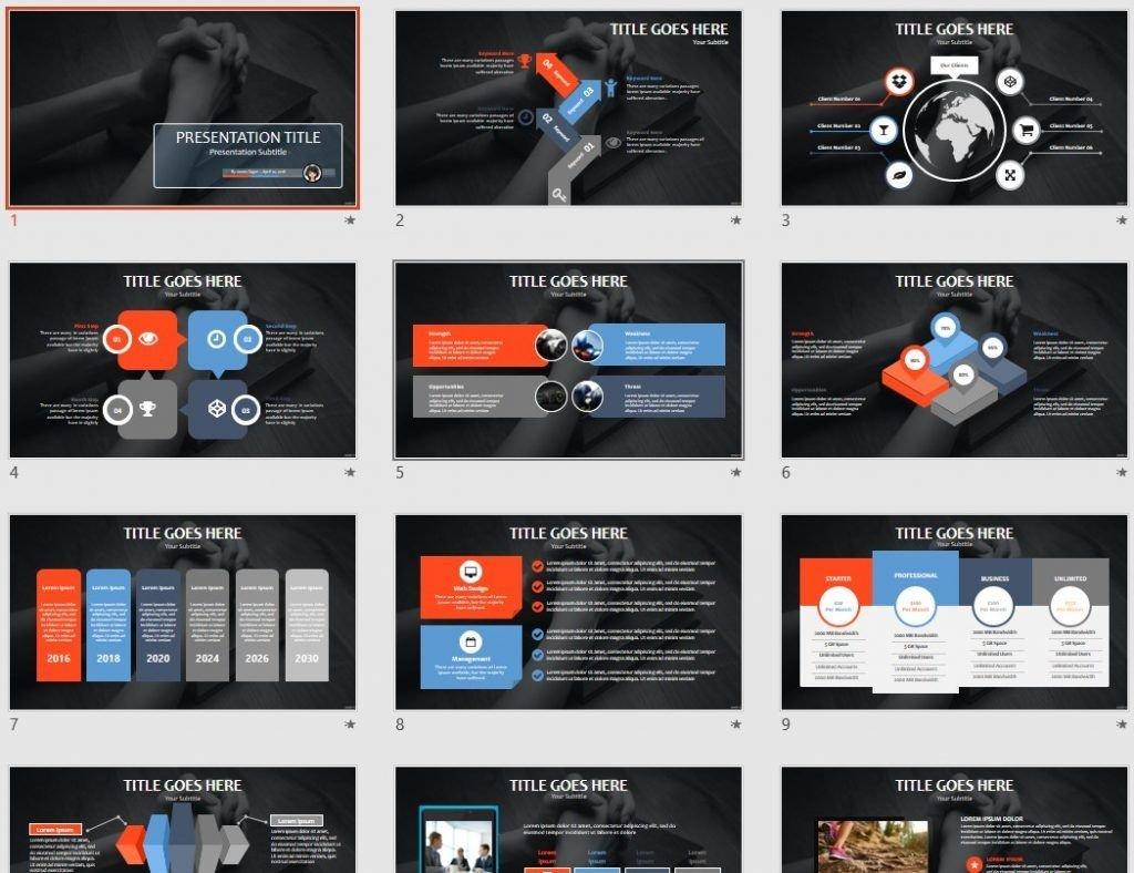 hands praying PowerPoint by SageFox