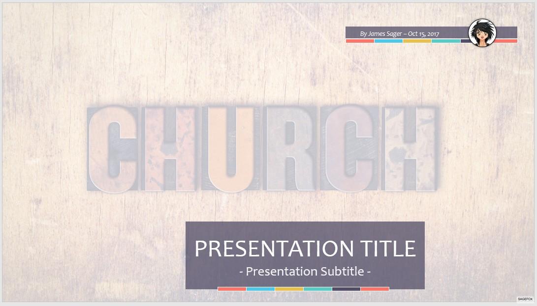free church ppt #81934 | sagefox powerpoint templates., Modern powerpoint