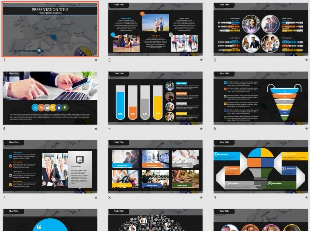 Bosnia PowerPoint by SageFox
