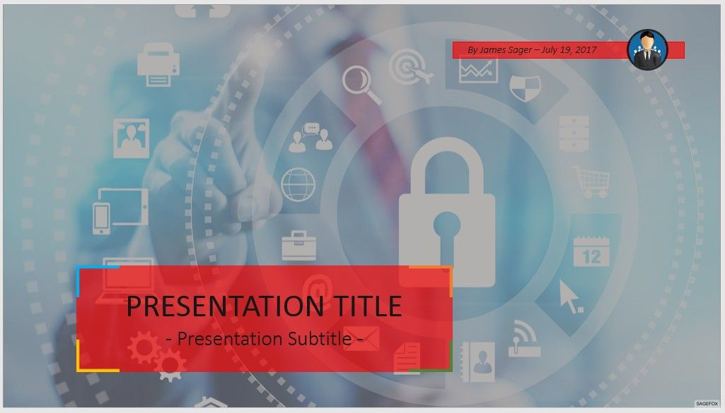 free internet security powerpoint #83413 | 14129 free powerpoint, Powerpoint templates