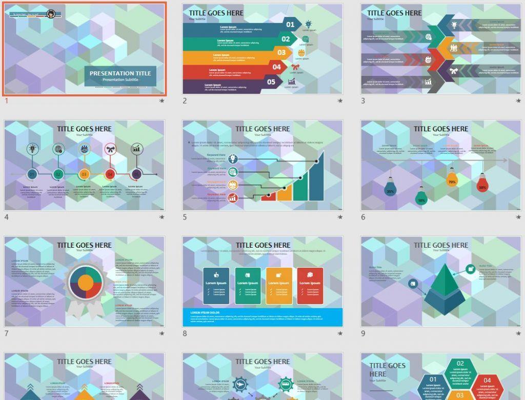 geometric PowerPoint by SageFox