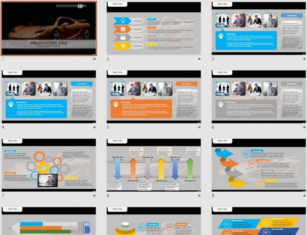 Vencer Sarthe PowerPoint by SageFox